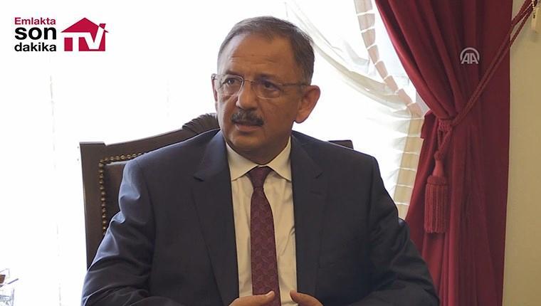 Bakan Özhaseki, Bursa'da kentsel dönüşümü inceledi!