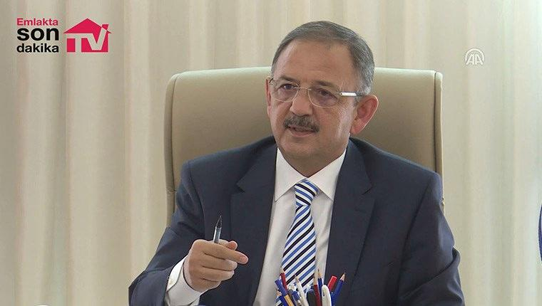 Mehmet Özhaseki imar barışı ile ilgili soruları cevapladı