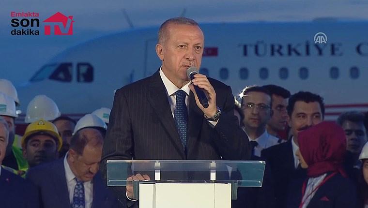 """Cumhurbaşkanı Erdoğan: """"Bizler için çok çok anlamlı bir gün"""""""