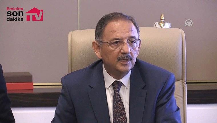 Mehmet Özhaseki devir teslim töreninde konuştu