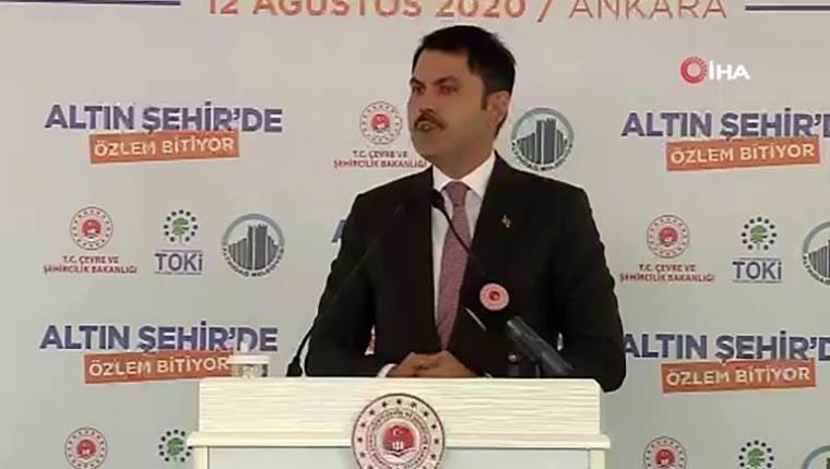"""""""'Türkiye'nin Her Yerinde Dönüşüm' hedefiyle projelerimizi sürdürüyoruz"""""""