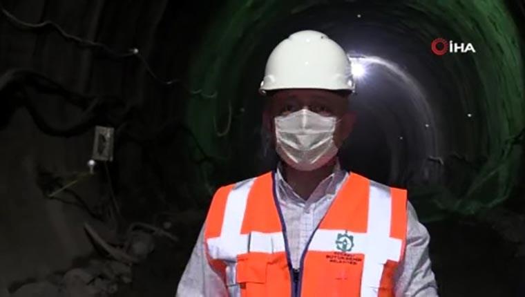 Kocaeli ile İstanbul'u birleştirecek metro hattında çalışmalar tüm hızıyla sürüyor