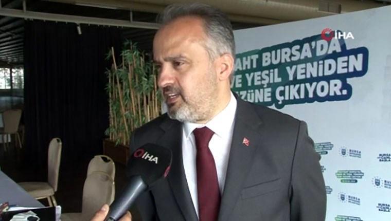 """Bursa Belediye Başkanı Alinur Aktaş, """"Tarihi dönüşüm"""" projesini anlattı"""