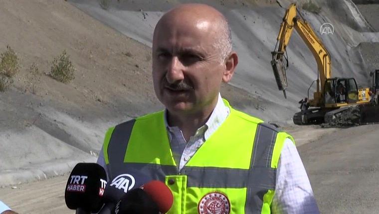 """""""Ankara-Sivas hattının hat serimi ve ray serimi tamamlandı"""""""
