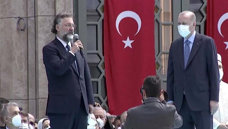 ''Taksim Camisi'ni yapmak Allah'a hamd olsun bize nasip oldu''