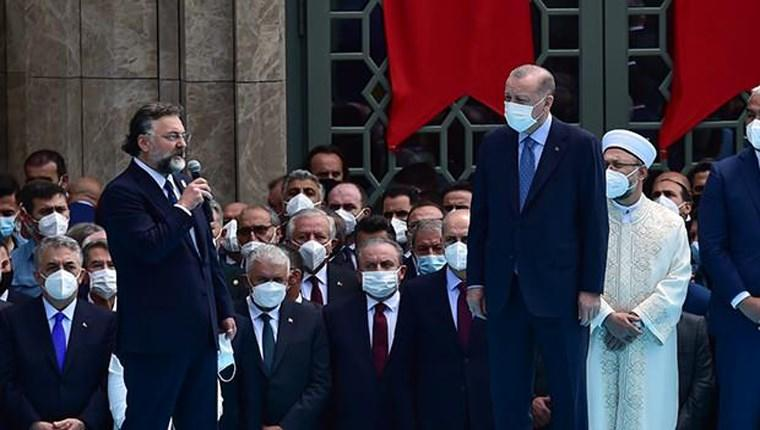 Altan Elmas, Taksim Camisi'nin açılışında konuştu!