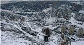 Bahçeşehir kar manzaraları