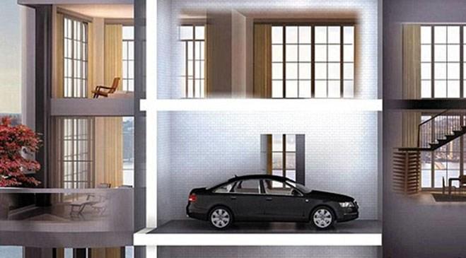 Nicole Kidman'ın araba asansörlü yeni evi
