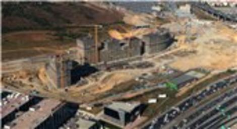 Batışehir projesine havadan bakın!