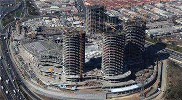 Mall of İstanbul projesinin helikopter görüntüsü!