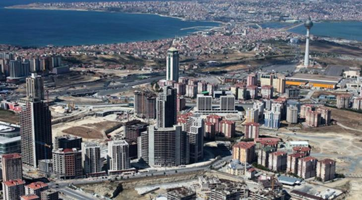 Kristal Şehir projesinin havadan görüntüsü!