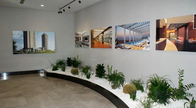 Emaar Square projesinin örnek dairesi yayında!