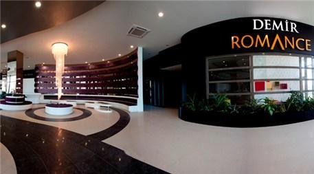Demir Romance satış ofisi farklı mimarisiyle dikkat çekiyor!