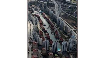 Bosphorus City projesine helikopterden bakın!