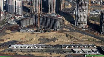 Konsept Halkalı projesinin havadan görüntüleri yayında!