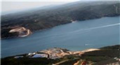 Yavuz Sultan Selim Köprüsü'nün şantiyesinden kareler emlaktasondakika.com'da!