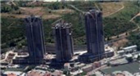 Ağaoğlu My Home Maslak'ta son durum! Emlaktasondakika gökyüzünden fotoğrafladı!