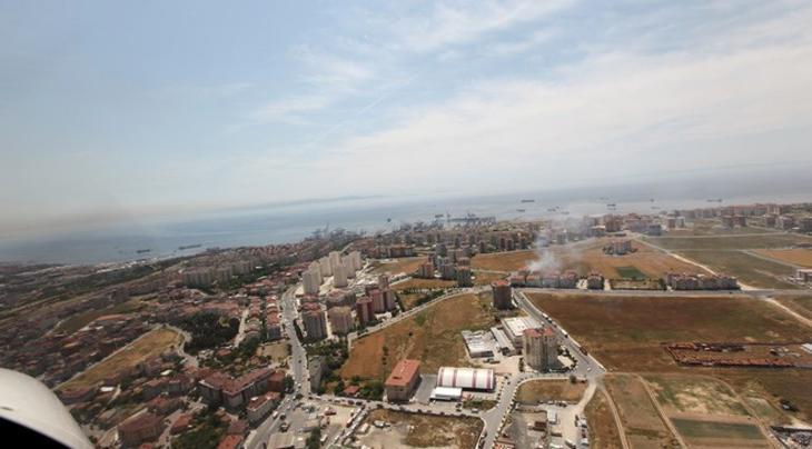 Marmara Evleri 3'ün havadan fotoğrafları yayında!