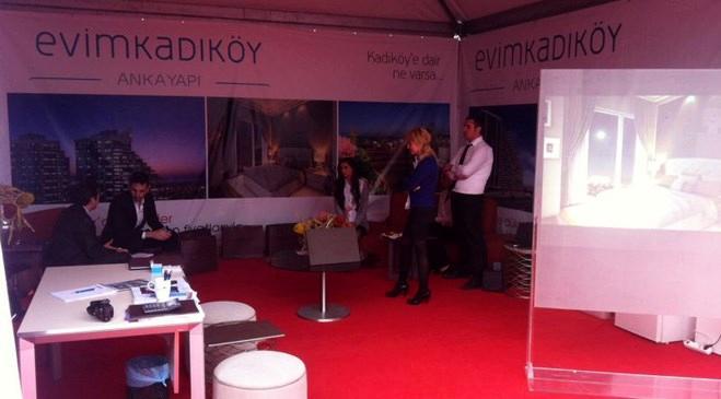 Evim Kadıköy Boat Show Fuarı'nda ziyaretçilerle buluştu!