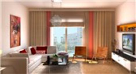 Kristal Şehir örnek daire görselleri