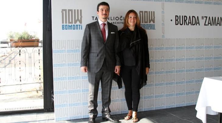 Now Bomonti basın toplantısından fotoğraflar