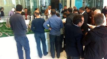 Kiptaş Vaditepe Bahçeşehir satış ofisinden kareler