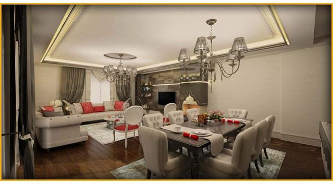 Mavera Sarayları örnek daire görselleri yayında