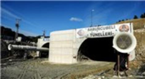 İstanbul-İzmir otoyolu tünel çalışmaları