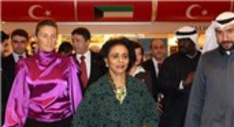 Kuveyt Emiri'nin kızkardeşi gayrimenkul fuarında