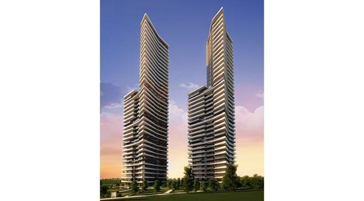 Ankara Tim Towers İncek proje görselleri