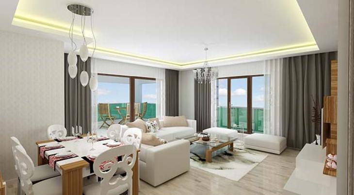 Ankara Pursaklar'da Aksoy VIP Konakları örnek dairesi
