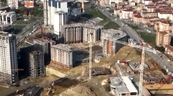 Esenyurt Evviva Yaşam Merkezi hava fotoğrafları