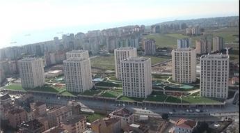 Beylikdüzü Marmara Evleri 3 havadan görüntüleri