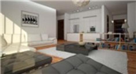 Kağıthane Residence Trea örnek dairesi