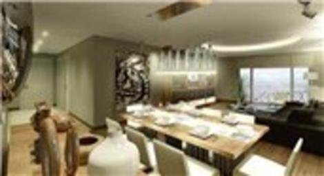 Sofa Bahçeşehir Evleri örnek dairesi