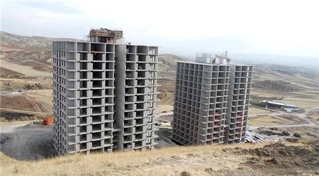 Ankara Mebuskent inşaatından görüntüler