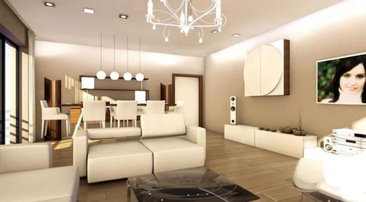 Silivri Silviya Konakları örnek dairesi