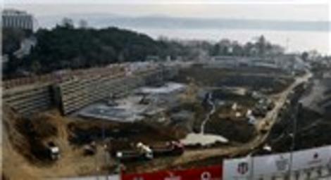 Vodafone Arena Stadı'ndan son fotoğraflar