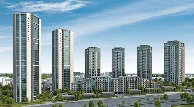 Teknik Yapı Metropark proje görselleri