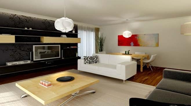 Kayacity Residence örnek daire görselleri