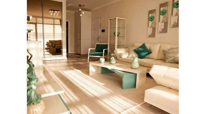 Ankara Gölde Luxe örnek dairesi