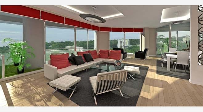 Ankara Pylon Residence örnek daire görselleri