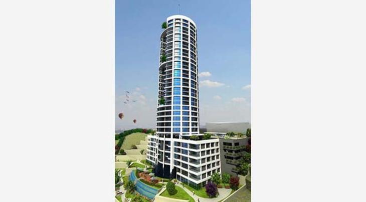 Ankara Pylon Residence proje görselleri
