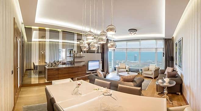 İzmir Panarama Residence örnek daire görselleri