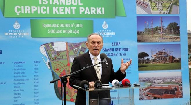 İstanbul Çırpıcı Şehir Parkı'ndan kareler yayında