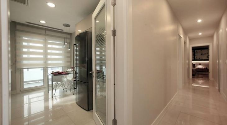 Tema İstanbul Evleri 3+1 örnek daire görselleri