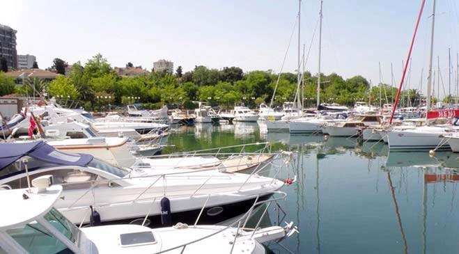 Kalamış - Fenerbahçe Marinası'ndan kareler