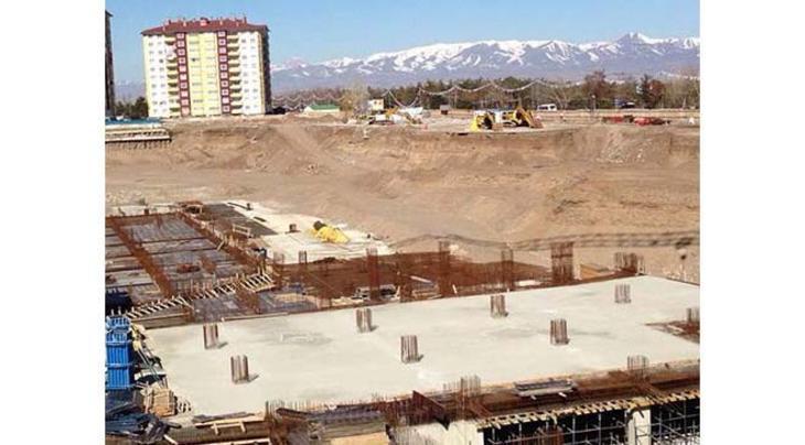 MNG Residence Erzurum inşaat görüntüleri