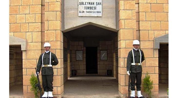 Süleyman Şah Türbesi'nden görüntüler