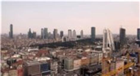 Torun Center Maslak manzarası